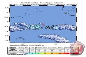Gempa Bumi Guncang Manggarai Barat Dan Bima