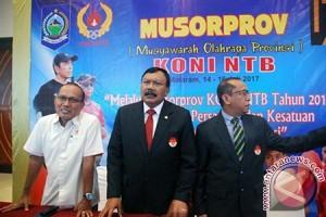 Olahragawan di NTB Memilih Ketua KONI