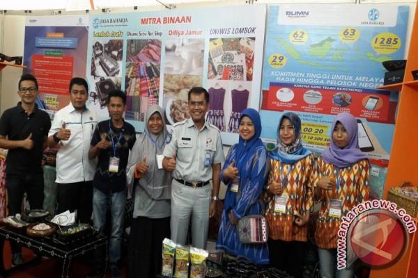 Jasa Raharja Fasilitasi UMKM Binaan Ikut NTB Expo