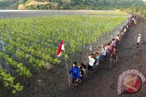 Warga Lombok Barat Berikrar Jaga Kelestarian Mangrove