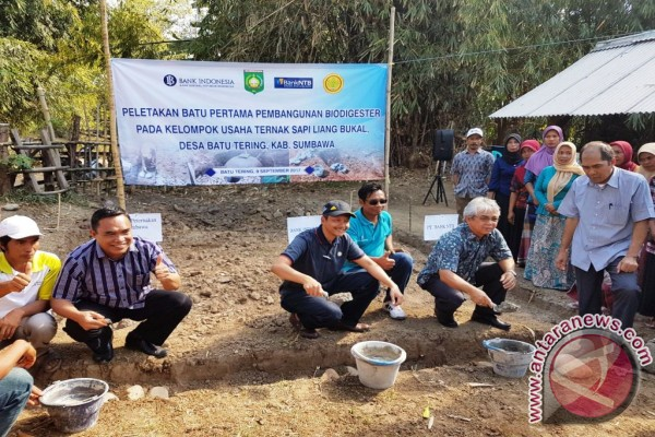 Bank Indonesia Builds Animal Waste Treatment Facility In Sumbawa