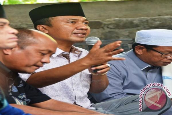 Bupati Lombok Barat Meminta Masukan Petani