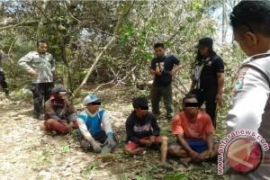 Empat Pelaku Pembalakan di Taman Nasional Tambora Diproses Hukum