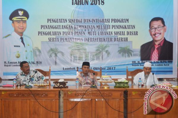 Pemkab Lombok Barat Tetapkan Prioritas Pembangunan 2018