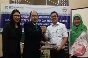 BPJS Kesehatan Mataram Gandeng Hotel Santika Berikan Pelayanan