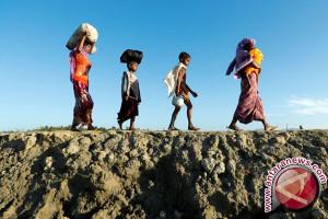 Sudah 600.000 warga Rohingya mengungsi ke Bangladesh