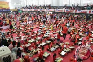 Ribuan Anak Ikut Lomba Mewarnai di Mataram