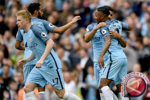 Manchester City Kokoh di Puncak Klasemen