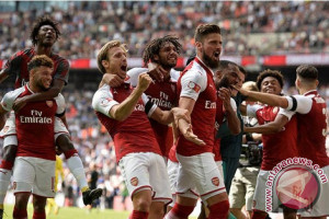 Arsenal Tantang City di Final Piala Liga