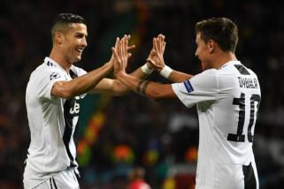Dybala pahlawan kemenangan Juventus di kandang MU