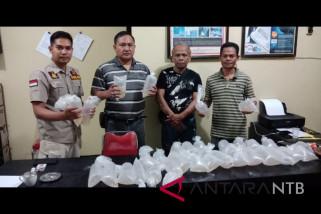 Ditpolair NTB gagalkan penyelundupan 5.203 benih lobster