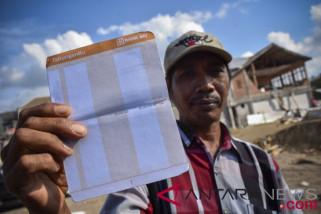 Bantuan Pembangunan Rumah Korban Gempa Mataram Cair