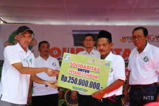 APTI  bantu petani Lombok rehabilitasi rumah produksi