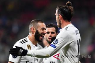 Liga Champions - Benzema cetak dua gol saat Madrid hancurkan Plzen