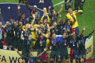 Kejayaan Perancis dalam Piala Dunia kendurkan ketegangan rasial