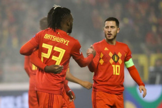 Batshuayi bawa Belgia mendekati final Nations League