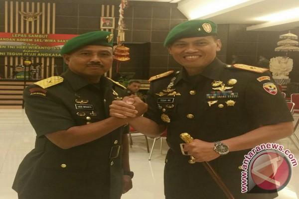 Komandan Korem 161/Wrasakti Kupang Diganti