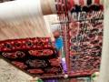 Seorang pengrajin tenun ikat Sumba Timur sedang menenun kainnya di Kampung Adat Raja Prailiu di Waingapu, Sumba Timur NTT, Selasa (4/7). Tenun ikat Sumba Timur dikenal mempunyai kualitas yang sangat bagus dan juga mahal karena proses pembuatan dengan bahan alami dan membutuhkan waktu yang lama untuk membuatnya. ANTARA FOTO/Kornelis Kaha/17