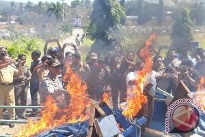 PSDKP Kupang Apresiasi Pemusnahan Kapal Pengebom Ikan