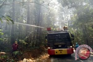 Kawasan Hutan Tanah Daru Terbakar