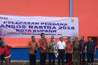 Bantuan Rastra untuk 13.740 KPM di Kupang