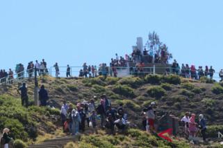 Kunjungan wisatawan ke Kelimutu selama Lebaran capai 9.614 orang