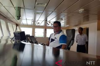 KM Sabuk Nusantara layani rute Waingapu-Benoa