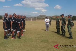 Sepak Bola - Satgas Pamtas RI-RDTL gembleng Bintang Timur Akademi