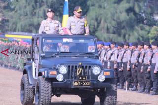 Kapolda: dua pertiga pasukan amankan pemilu 2019