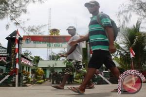Jumlah pelintas batas selatan RI-PNG menurun