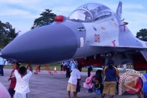 Latihan Cakra Biak siagakan tiga pesawat Sukhoi