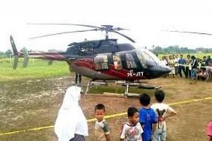 Helikopter Pemkab Mimika segera tiba dari Singapura