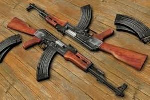 Polisi Keerom amankan dua pucuk senpi AK