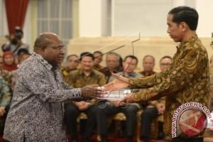 Penyerahan DIPA Papua