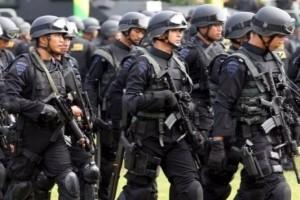 Pasukan Brimob Polda Riau bantu pengamanan Freeport