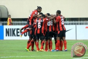 Persipura Jayapura bantai Bali United  Pusam Fc 5-2