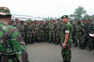 TNI siagakan tiga kompi pascatindakan anarkis mantan karyawan Freeport