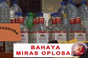 Polres Jayawijaya ungkap 14 kasus minuman oplosan