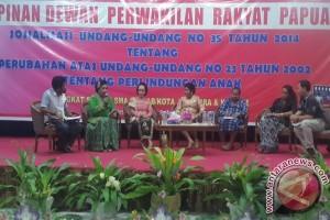 Wakil Ketua DPRP sosialisasikan UU Perlindungan Anak