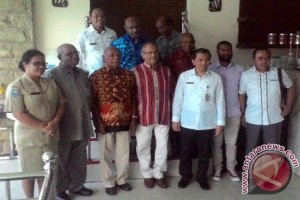 Mantan Presiden Timor Leste bertemu tokoh Papua