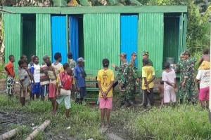 Jamban untuk warga pedalaman Papua