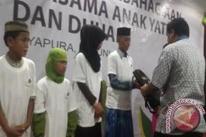 PLN WP2B santuni anak yatim dan kaum dhuafa