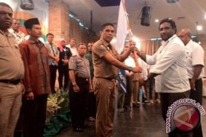 Sekda Papua lepas Kontingen Porwanas Bandung