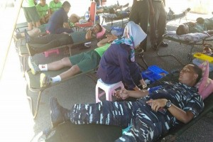 Kodam XVII/Cenderawasih gelar donor darah
