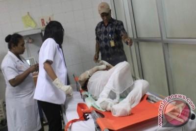 UP2KP jemput pasien terbakar dari Tolikara