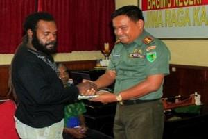 Anggota TPN/OPM kembali ke NKRI