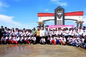 Menhan kukuhkan kader bela negara di perbatasan RI-PNG