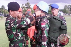 20 Paskhas Sarotama bergabung dengan Pasukan PBB di Lebanon