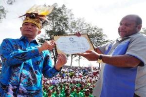 Mendikbud berikan bantuan keaksaraan bagi warga Lanny Jaya