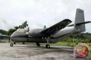 Pesawat Caribou milik Pemkab Puncak